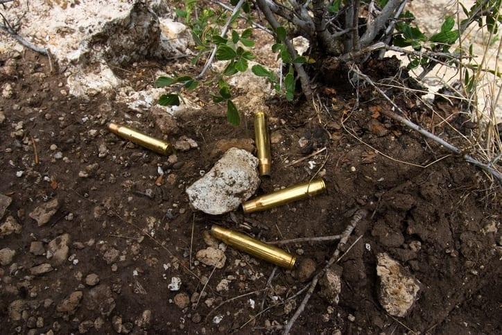 Shooting Range lead decontamination