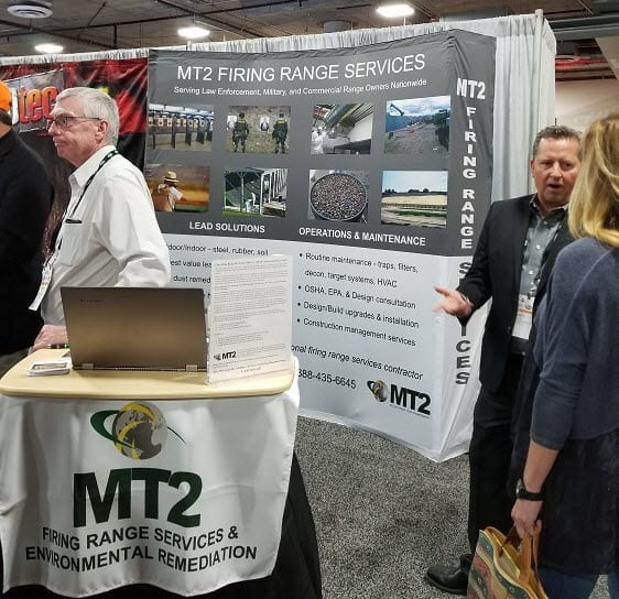 2018 SHOT show 2 updated - MT2 Firing Range Services at 2018 SHOT Show