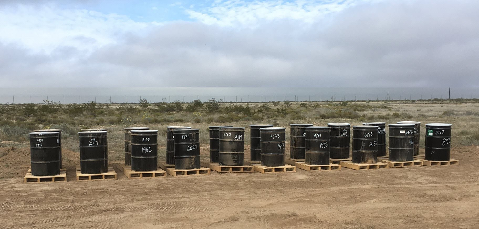 Lead impacted waste barrels - DIY Tips for Firing Ranges to Manage Their Lead-Containing Waste Onsite