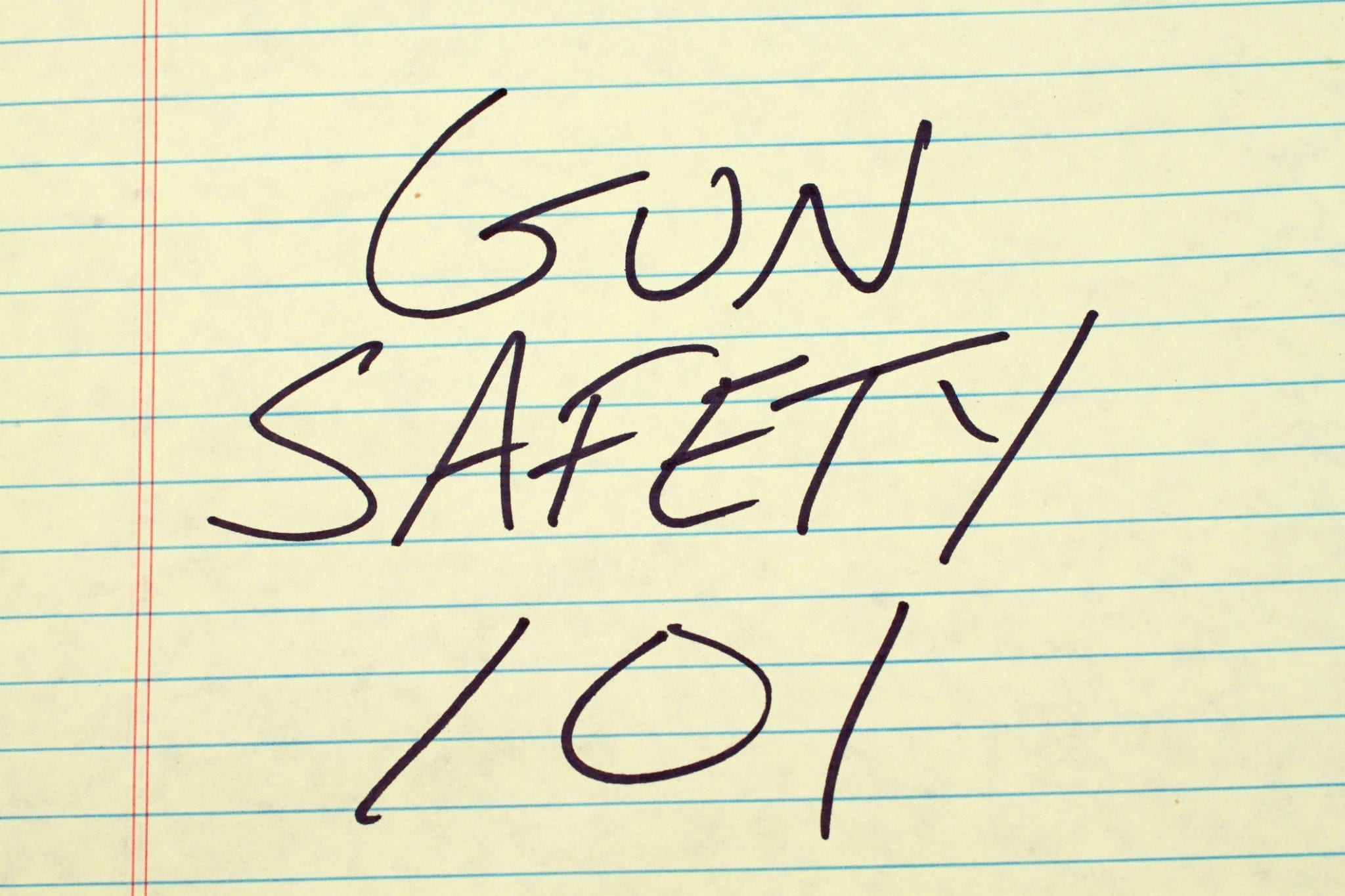 5 FIREARM SAFETY TIPS FOR ON & OFF THE FIRING RANGE