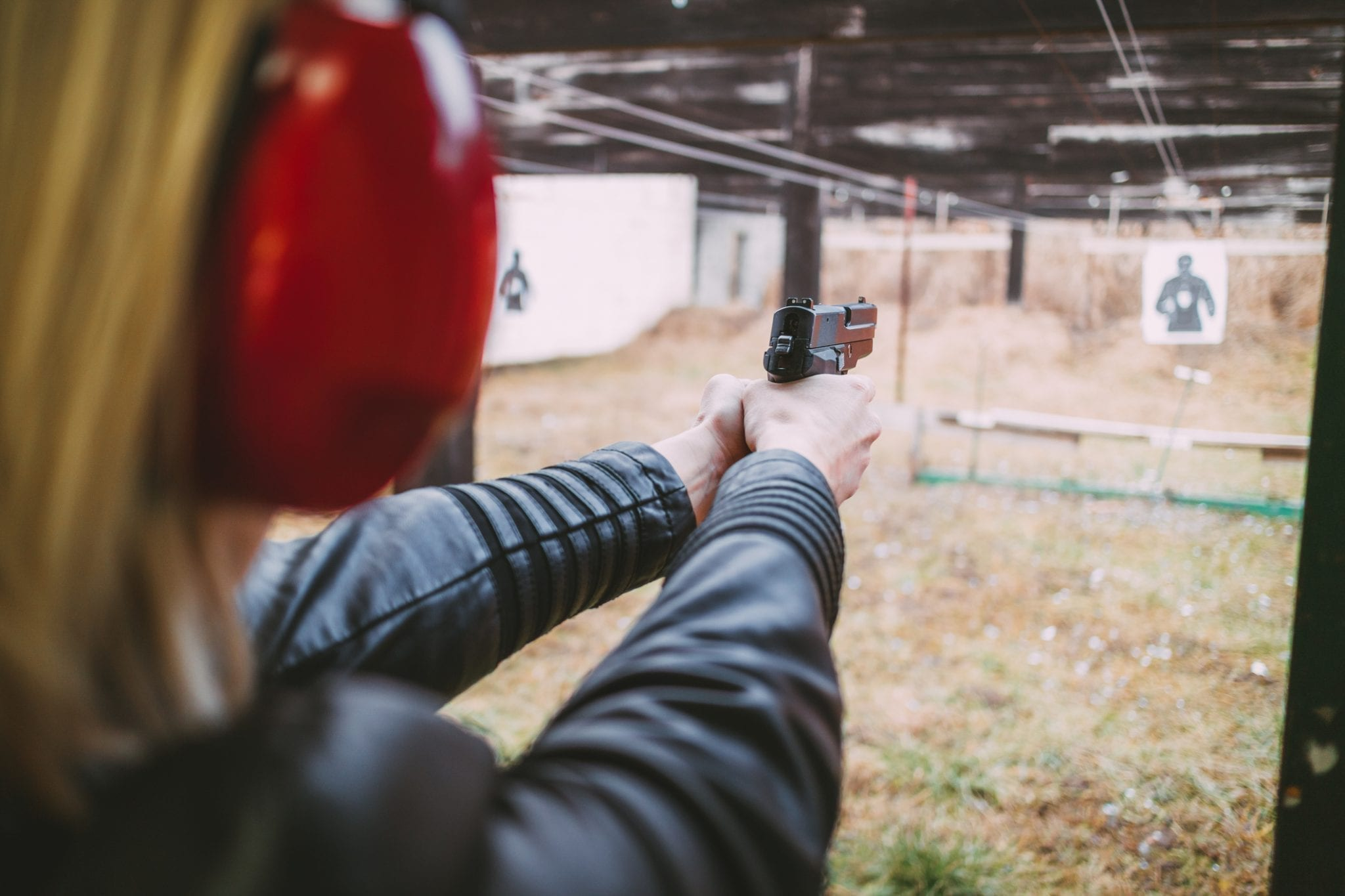 Women Learning to Shoot and Preventing Violence