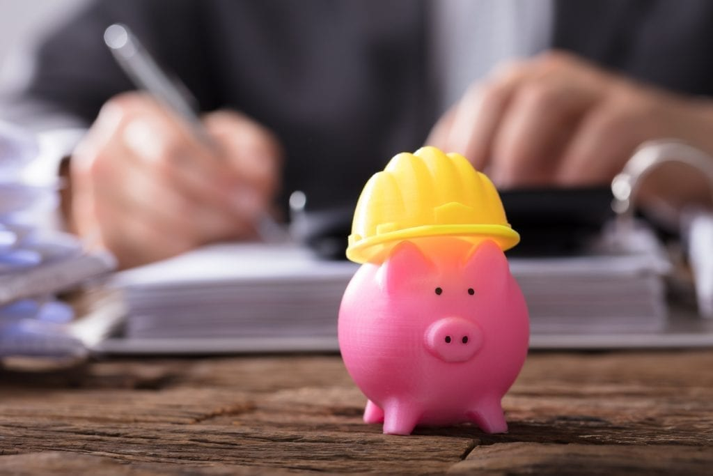 Lead Maintenance Contractor -construction piggy bank-iStock-949199016