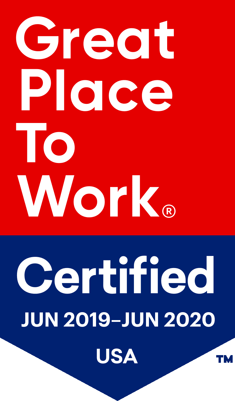 MT2 Firing Range Services Earned Designation as a Great Place to Work Certified™ Company in 2019
