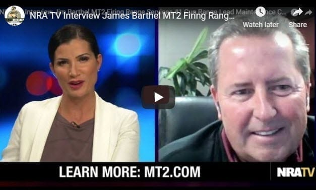 "MT2 Firing Range Services to Teach Webinar for the NRA Titled: ""Critical Shooting Range Operational and Waste Management Requirements."""